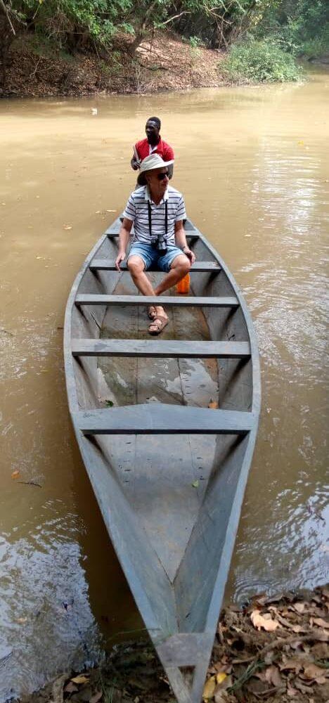 Met de kano door de mangroven in Mole Park