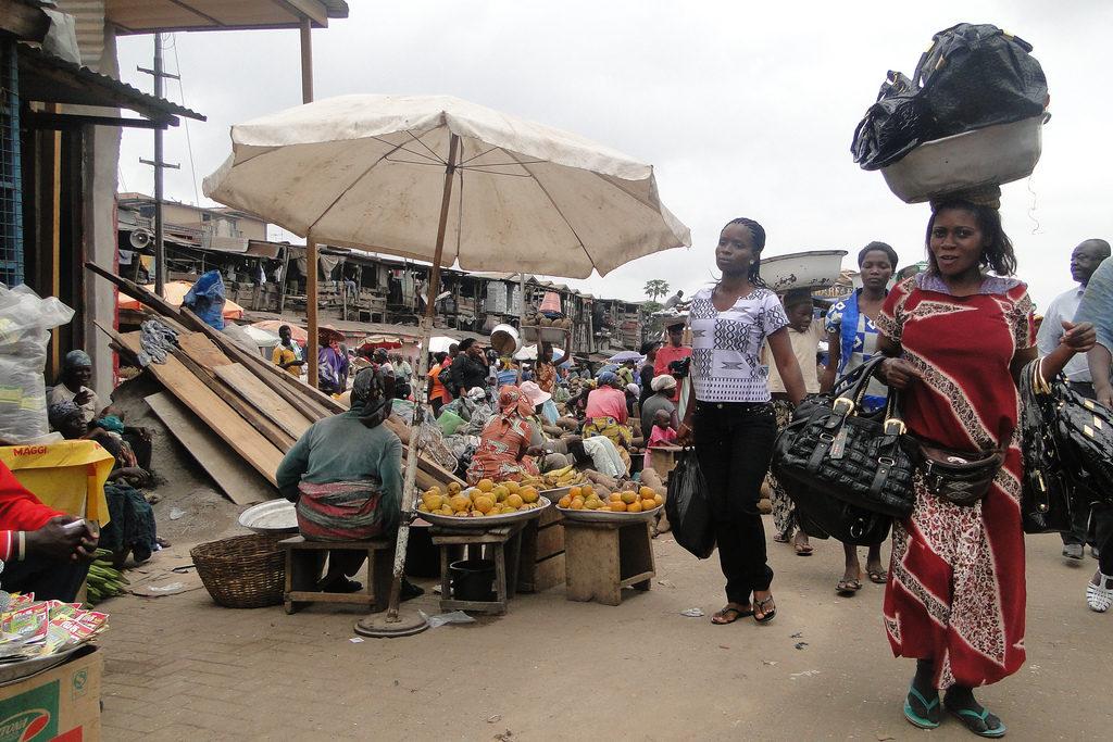 Kumasi markt